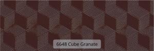 6648 Cube Granate ref
