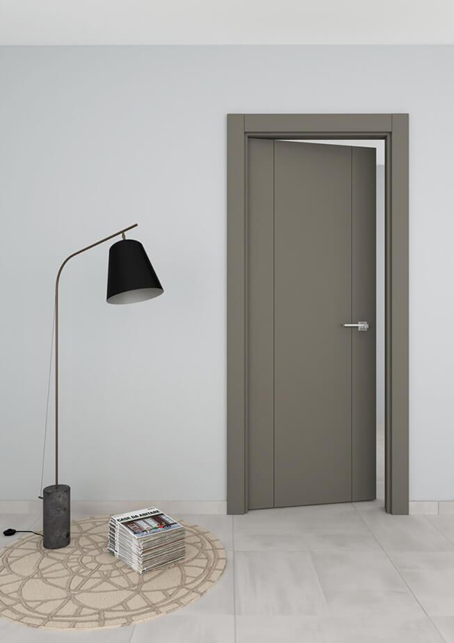 Puerta interior aluminio Mod 200 2FV