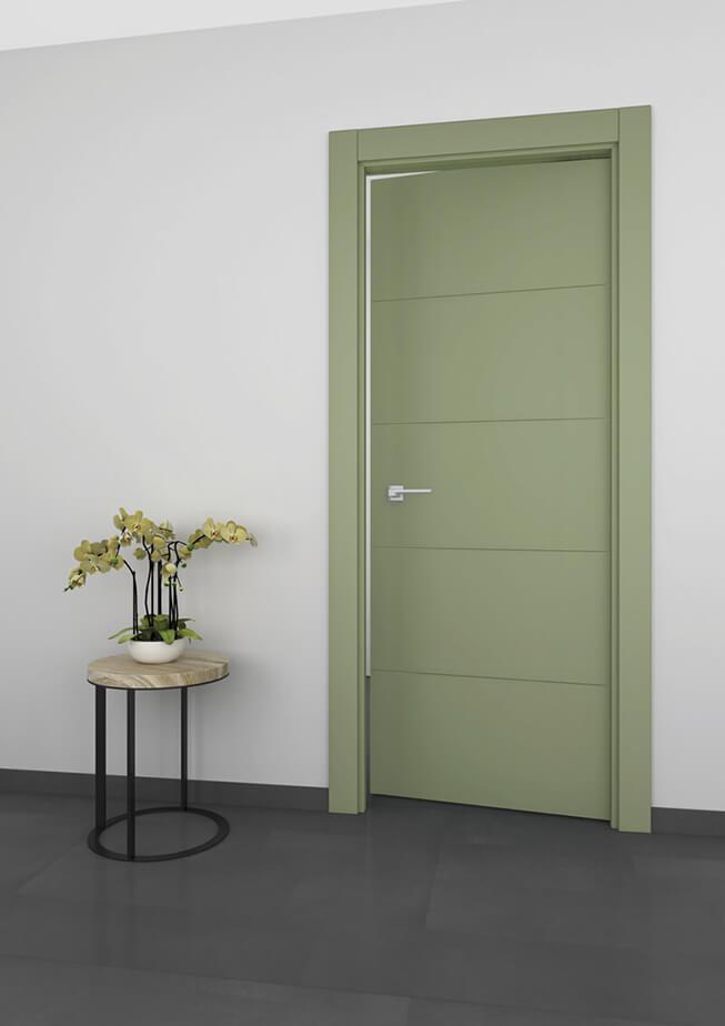Puerta interior aluminio Mod 200 4FH1