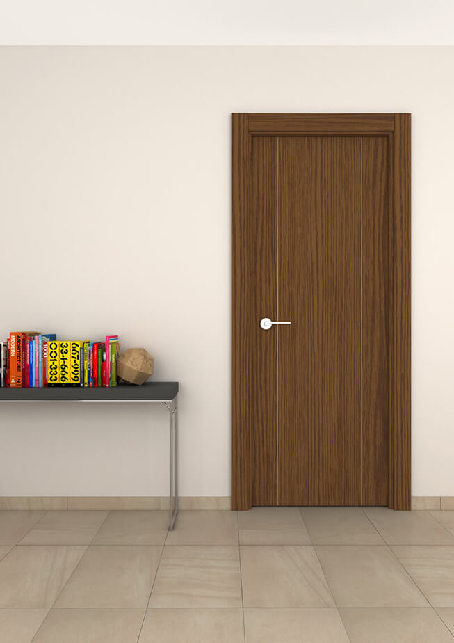 Puerta interior aluminio Mod 300 2IV-V
