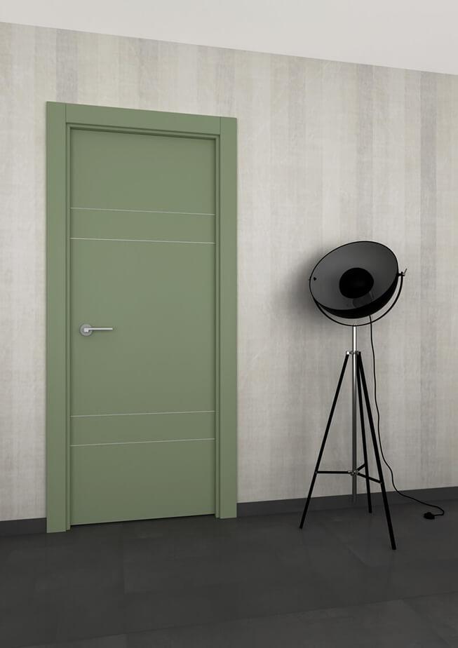 Puerta interior aluminio Mod 300 4IH2